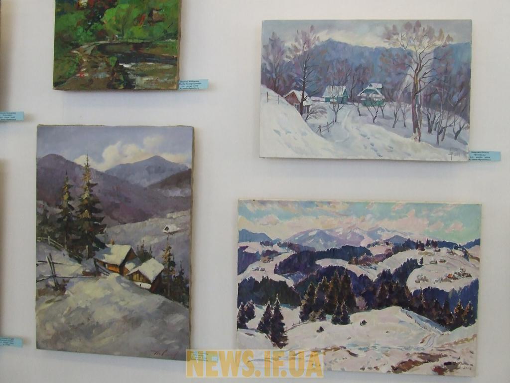 Відкриття виставки живопису